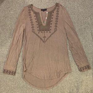 Boho tunic top
